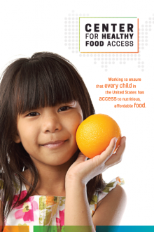 Center for Healthy Food Access Brochure