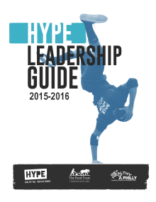 hype leadership guide front cover